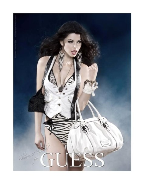 Linda Taylor for GUESS MARCIANO
