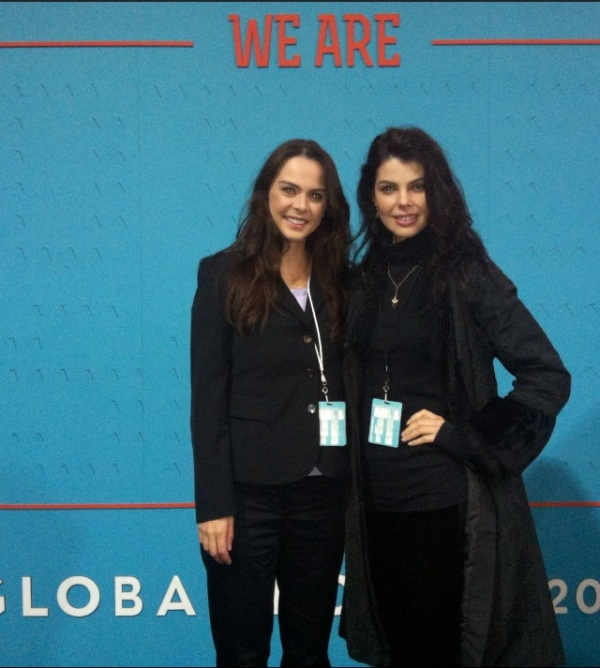NotForSale Global Forum 2012, Sojka Foundation founder Petra Hensley, Linda Taylor SojkaFoundation Media Consultant, Advisor
