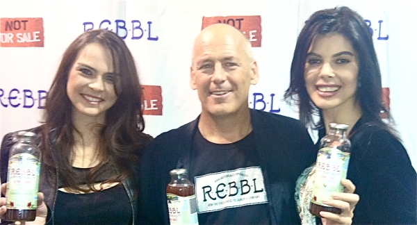 REBBL launch, Los Angeles 2011. Not For Sale founder David Batstone, Sojka Foundation founder Petra Hensley, Linda Taylor, SojkaFoundation Media Consultant/Advisor